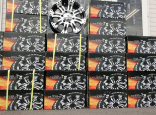 ★FLEDERMAUS★16インチ CUERVO8 車検対応LTタイヤ付(タイヤセレクト可能) 1セット