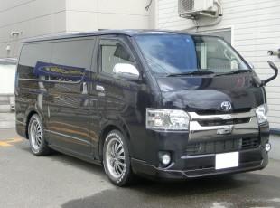 ESSEX「フロント・サイド」GIBSON「リア」エアロ取付